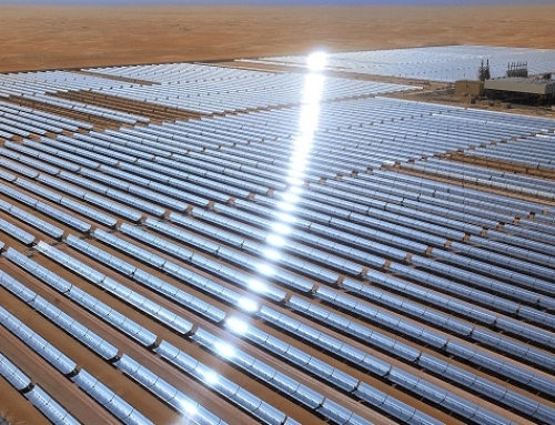 Masdar's Shams 1 concentrated solar power plant now powers 20,000 homes