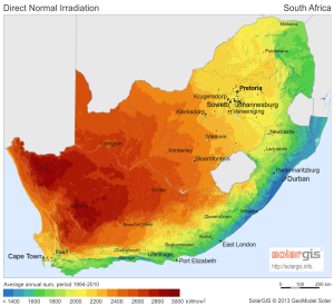 South Africa SolarGIS-Solar-map-DNI-South-Africa-en