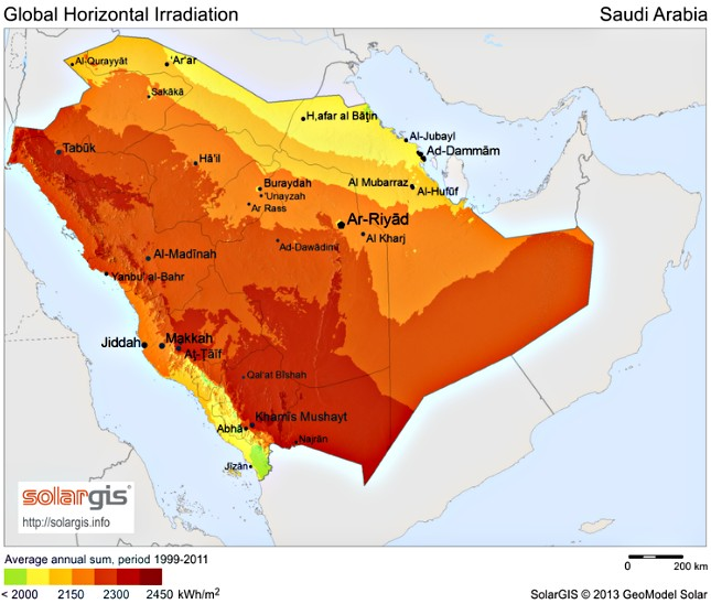 Saudi Arabia shines a light on future of concentrated solar power