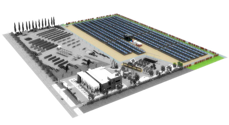 Enerray close to complete the first Concentrated Solar Power plant in Morocco
