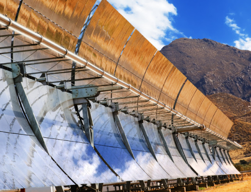 Energy potential of concentrated solar power for Europe