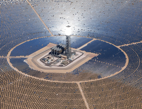 Worm Gear Technology Helps Concentrated Solar Power Plant Stay Locked on Target