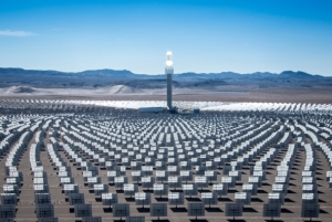 Concentrated Solar Power Tower Crescent