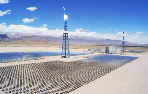 Concentrated Solar Power capacity in China