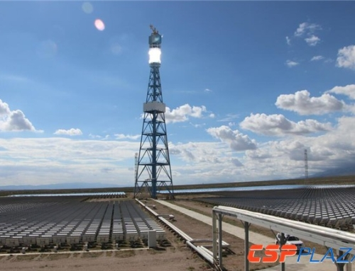 Almost 90% Solar Field of CGN Delingha 50MW Concentrated Solar Power Plant Completed