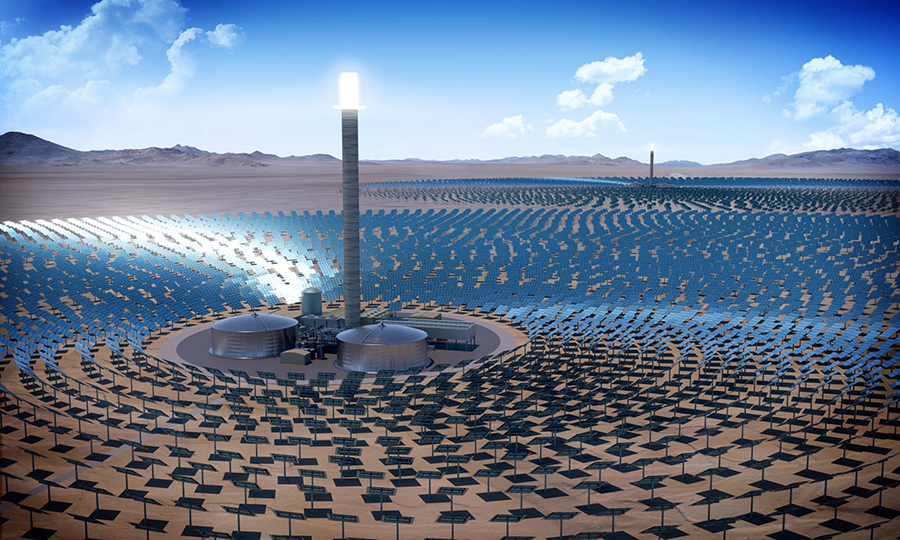 How to achieve US$63MWh in a Concentrated Solar Power tower project with storage
