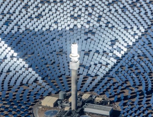 Australia's big new concentrated solar power plant
