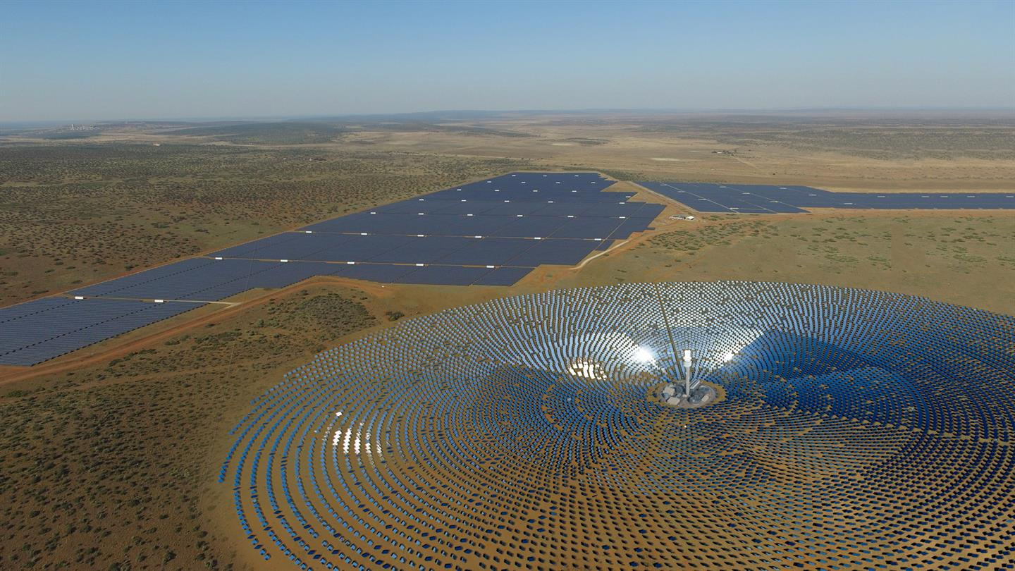 Afdb Approves 221m Loan For 100 Mw Redstone Concentrated Solar Minecraft Circuits Clock Generator Youtube Power Project In South Africa