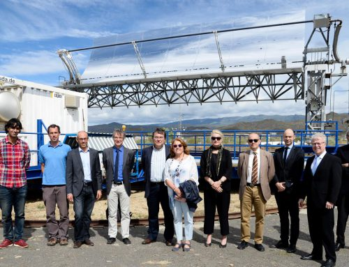 Hydrogen from sunlight – A visit to Plataforma Solar in Almería