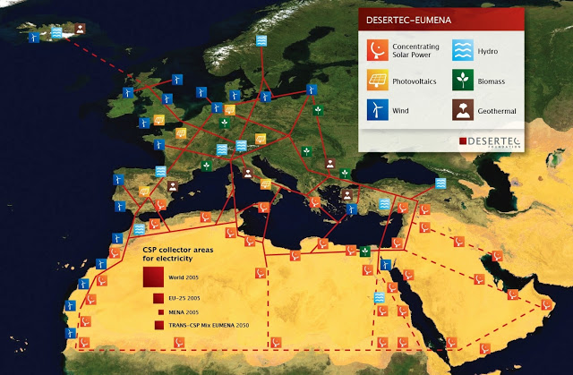MENA solar Concentrated Solar Power projects share-DEWA