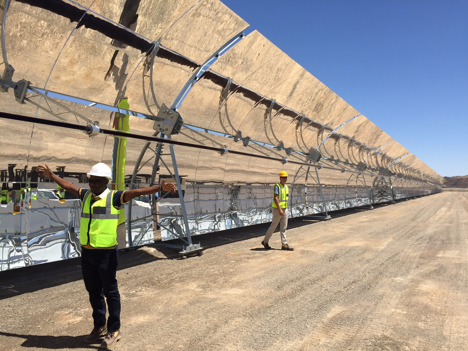 How concentrated solar power plants could replace gas peakers