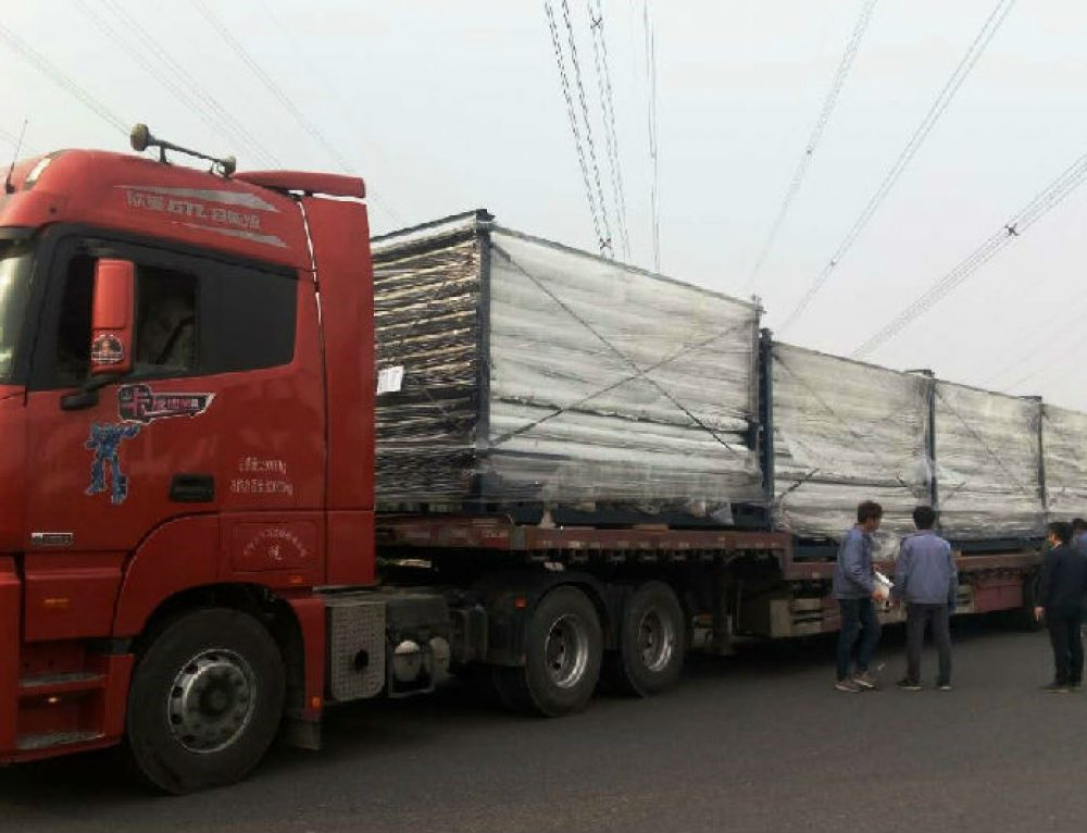 1365 receiver tubes sent to China CNNC Royal Tech Urad 100MW parabolic trough Concentrated Solar Power project