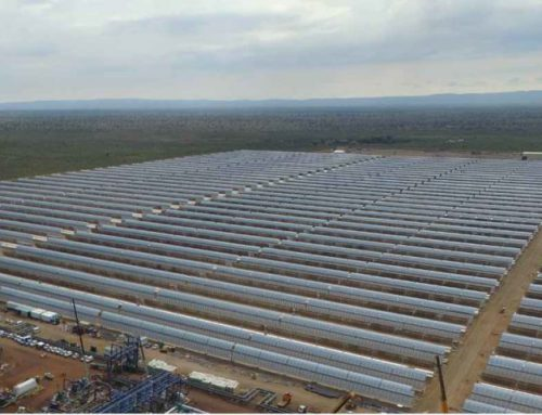 Melt 1.030Ton/day of Salt with one Melting Furnace in KATHU Concentrated Solar Power Plant