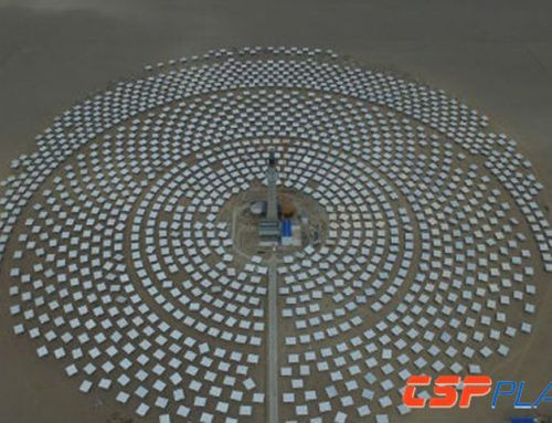 CPECC Hami Tower Concentrated Solar Power Project to be completed in Mid 2019