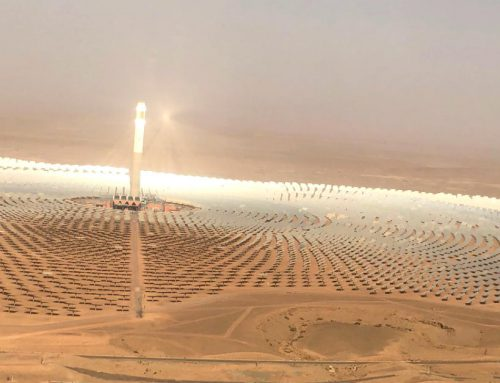 IRENA Director-General Visits World's Largest Concentrated Solar Power Site in Morocco