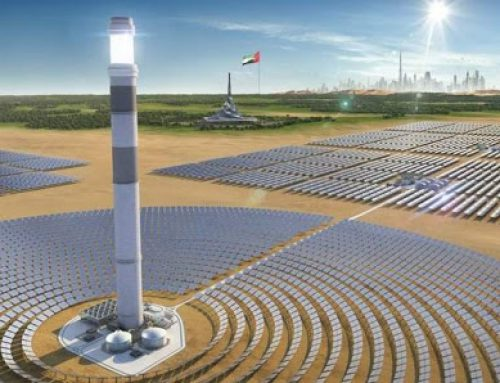 Central Tower of 700 MW Concentrated Solar Power Project by Shanghai Electric and DEWA Tops Out in Dubai