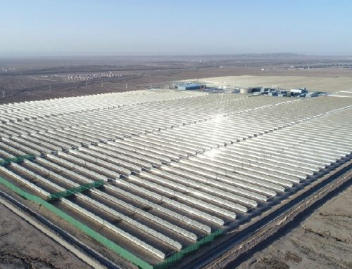 Who provide equipment and services to China Concentrated Solar Power plants?