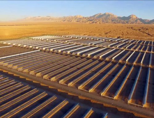 Delingha, China's first commercial concentrated solar power plant produces electricity