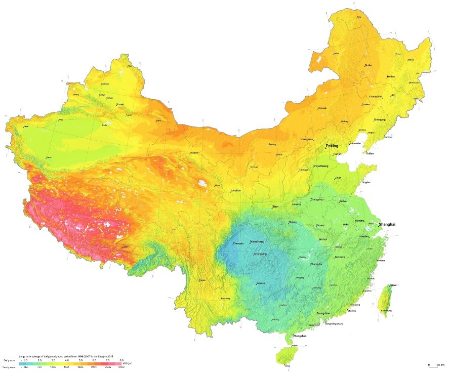 Suppliers List of China 13 Key Concentrated Solar Power ... on scarcity of food in china, a map form america to china, russian maps n china,
