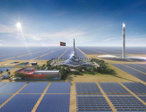MD & CEO reviews construction of 4th phase of the Mohammed bin Rashid Al Maktoum Concentrated Solar Power Park