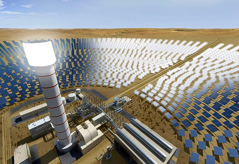 Concentrated Solar Power plant visit and MENA solar thermal
