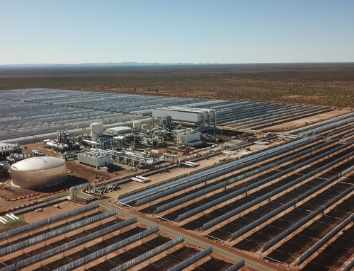 Sener and Acciona winners at the African Utility Week Awards for Kathu Solar Park project