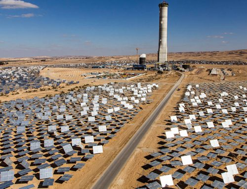 The importance of Ashalim Concentrated Solar Power plant in Israel