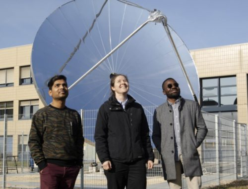 New device excels at making hydrogen using concentrated solar power