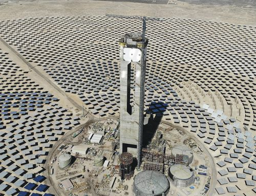 Fire halts construction at Chile's first Concentrated Solar Power tower