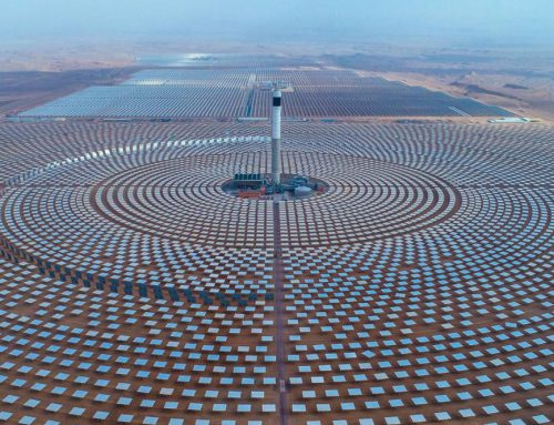 Project a concentrated solar power plant in La Puna, Argentina