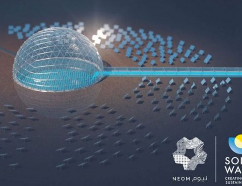 Concentrated Solar Heat to Desalinate Seawater at Saudi Neom City