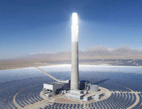 Shouhang Yumen 100MW Concentrated Solar Power Project starts building its tower this week