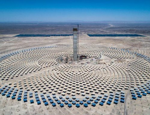 Solar Energy Center developed LCOE Map for installation of Concentrated Solar Power plants in Chile