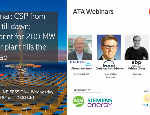 ATA Insights Webinar | CSP from Dusk to Dawn: Blueprint for 200 MW Tower
