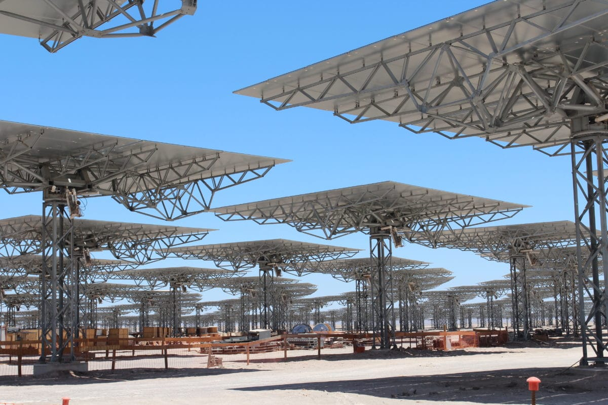 Hybrid PV – Concentrated Solar Power has a lower LCOE than gas in Chile