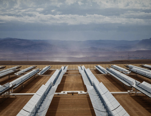 Concentrated solar power produces heat, electricity and fuel